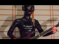 METALLICA - Master of Puppets (Guitar cover by Latex puppet with ball gag ver)