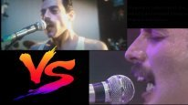 Bohemian Rhapsody vs Real Life - Live Aid Side by Side Comparison - Queen