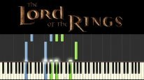 The Lord of the Rings theme - Piano Medley (Tutorial - Synthesia) + НОТЫ