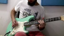 """Pink Floyd """"Comfortably Numb"""" solo cover"""