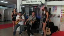 ACDC - Highway to Hell (Live at NAMM Musikmesse Russia). Kirill Safonov and Yuriy Sergeev
