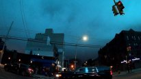 GREEN SKY & FLASHING LIGHTS: Con Edison Transformer Explodes in Astoria, Queens, NYC