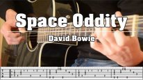Space Oddity [David Bowie] - Fingerstyle Cover with TABS